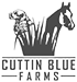 Cuttin Blue Farms Logo